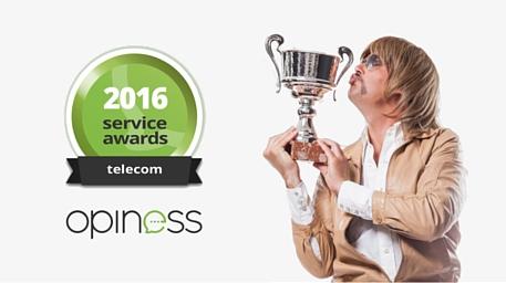Youfone winnaar beste service award opiness